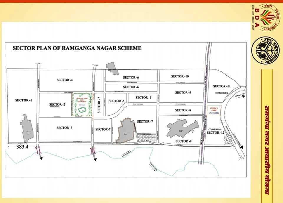 Ramganga Nagar Bareilly Map