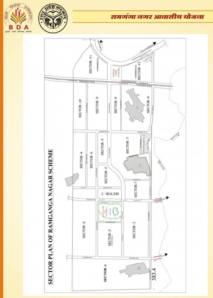 Sector wise Map - ramganga nagar